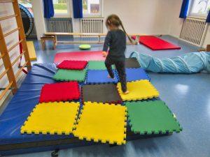 Turnhalle im Kindergarten St. Christophorus